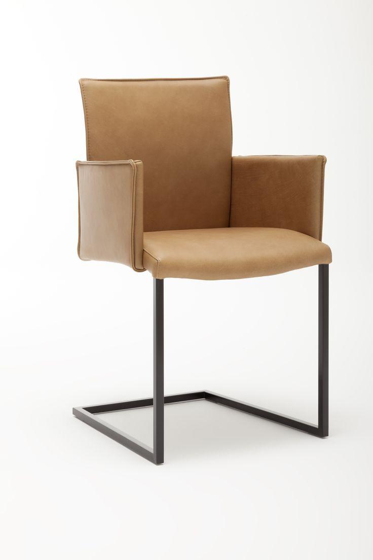 Stuhl Jule Stuhle Freischwinger Leder Esszimmer Gwinner Wohnzimmer Stuhle Lederstuhle Stuhle