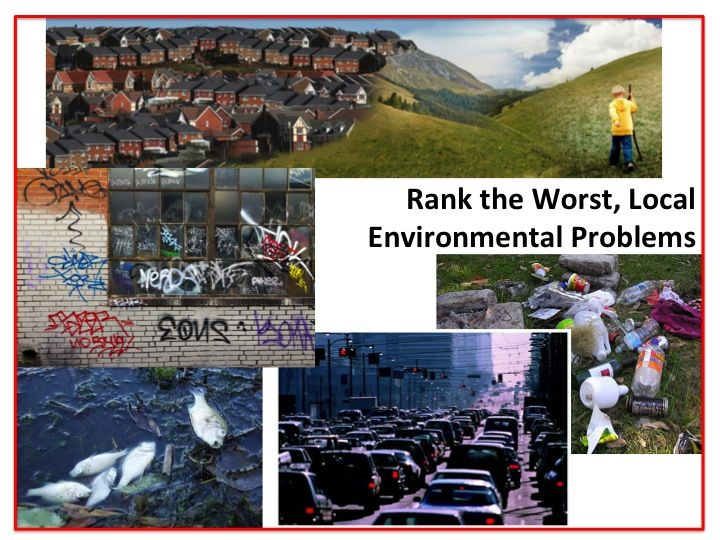 local environmental issues Dr simona grano analyzes the environment challenges facing taiwan by  examining  some of these are global concerns, such as acid rain or an increase  of.