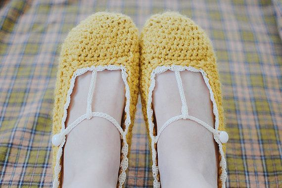 crochet slippers!!