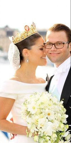 Crown Princess Victoria & Prince Daniel, is it any wonder Estelle is so cute with parents like these.