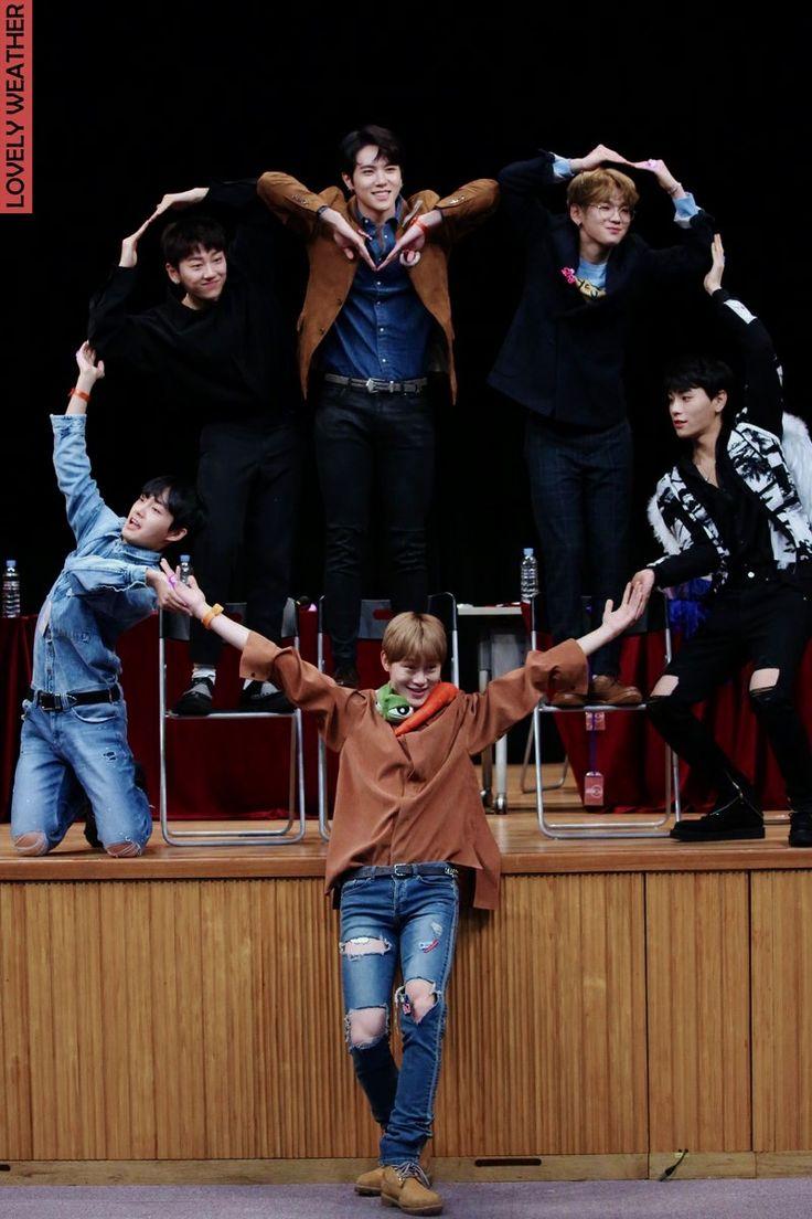 171203 #JBJ @Busan fansign <3