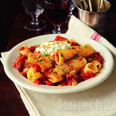Ригатони с рикоттой и томатами  http://www.goodhouse.ru/recipes/kategoriya-osnovnoe-bludo/382705/#ad-image-0