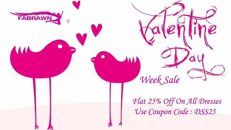 Hurry Up!!! Don't miss out Valentines Day Week Sale Flat 25% Off On All Dresses Use Coupon Code : DSS25 http://goo.gl/2oAu09 ‪#‎Fashion‬ ‪#‎Style‬ ‪#‎DressesforWomen‬ ‪#‎Women‬ ‪#‎Offer‬ ‪#‎Deal‬ ‪#‎latesttrends‬ ‪#‎boutique‬ ‪#‎discount‬ ‪#‎dresses‬ ‪#‎Gawn‬ ‪#‎SexyGawn‬ ‪#‎Girls‬ ‪#‎fabulous‬ ‪#‎PartyDresses‬