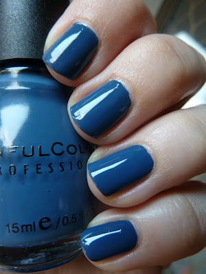 Rain Storm by Sinful Nail Polish! One of the most prettiest blue's yet. ♥