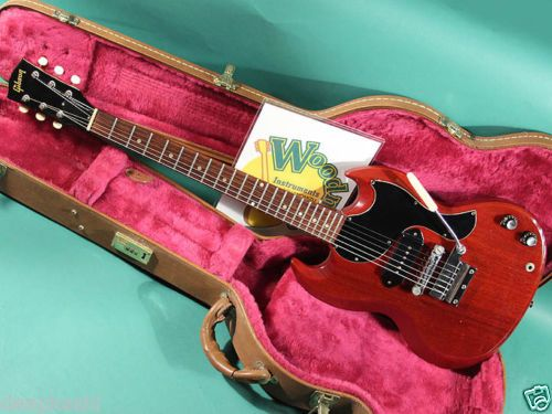 GIBSON-SG-JR-CH-1965-EX-W-HC-Electric-guitar