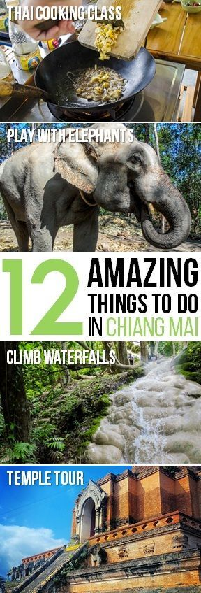 There's something for everyone in Chiang Mai, Thailand | http://tielandtothailand.com
