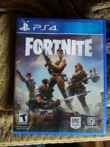 Fortnite Sony Playstation 4 Game Physical Disc Case Fortnite