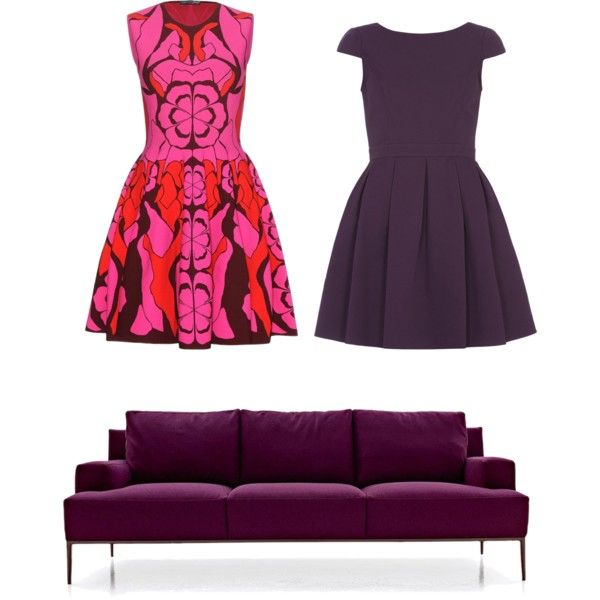 Purpel by muslimco on Polyvore featuring polyvore, mode, style, Alexander McQueen and Dorothy Perkins