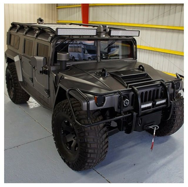 Hummer tires are to big but the rest of it is sweet!