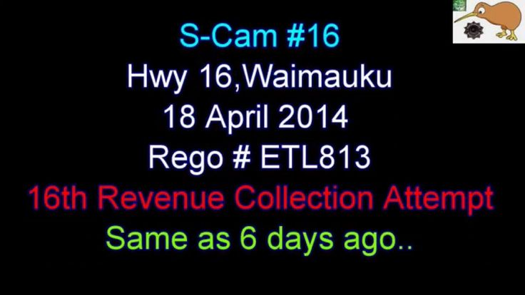 S-Cams (16) - NZ Police - 18 April 2014 - 16th Revenue Attempt