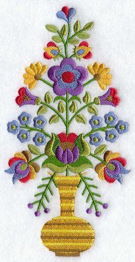 Hungarian Flowers in Vase