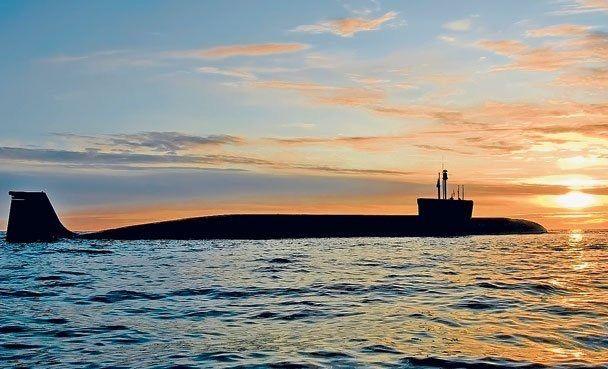 """РПКСН """"Александр Невский"""", второй корабль проекта 955 """"Борей""""."""
