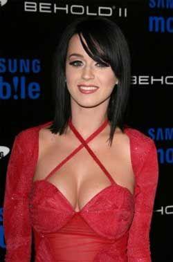 Katy perry short black hair