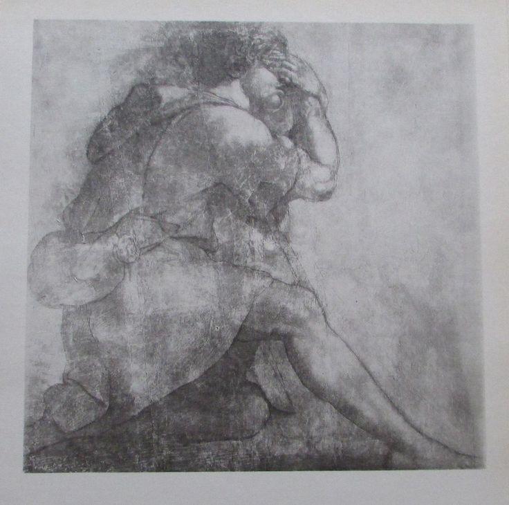 Raffael MOSES Reproduktion alter Druck old print italienischer Maler