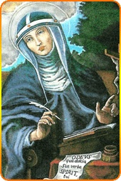 """On hearing St. Bridget, Jesus promised His Most Holy Mother He would grant three special graces to those who invoke that holy name with confidence: first, He would grant them perfect sorrow for their sins; secondly, that their crimes should be atoned for; and, thirdly, that He would give them strength to attain perfection, and at length the glory of paradise. And then our Divine Savior added: """"For thy words, O My Mother, are so sweet and agreeable to Me, that I cannot deny what thou askest."""""""