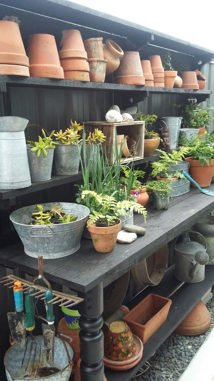 Loving my potting bench