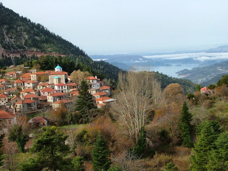 Fidakia, a car-free traditional village with exceptional views
