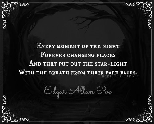 ― Edgar Allan Poe, Fairy-land