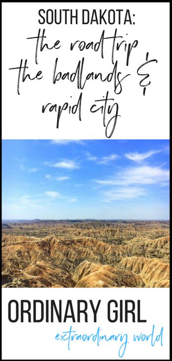 Rapid City and Badlands National Park, South Dakota