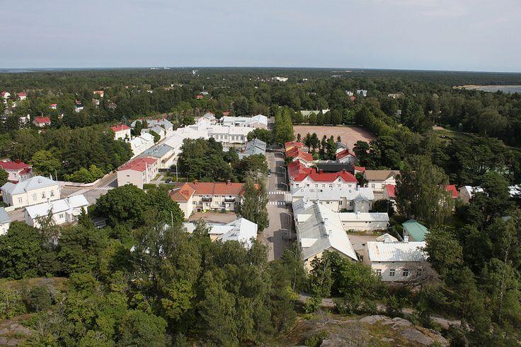 Hangon keskustaa #Hanko #Finland