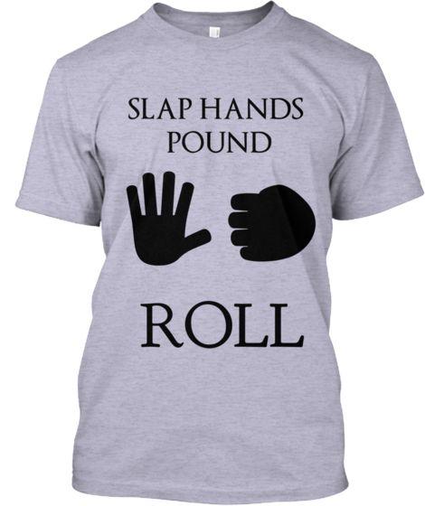 Jiu Jitsu T-Shirt (Slap Hands - Pound) | Teespring