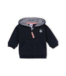 Baby boy zip-up, hooded sweatshirt £31.50 Petit Bateau