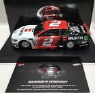 2019 1/24 #2 Brad Keselowski Wurth Elite – Mustang 1 of 102 Same Day Ship #Dieca… – Diecast & Toy Vehicles