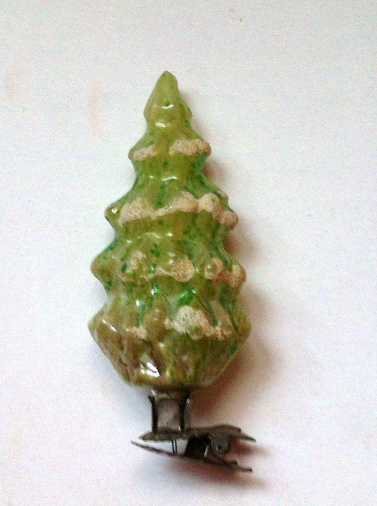 Alter christbaumschmuck auf einer w scheklammer - Weihnachtsbaum antik ...