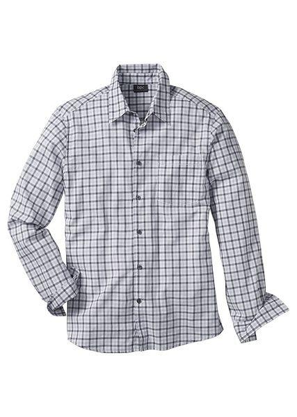 Kostkovaná košile s dlouhým rukávem S • 289.0 Kč • Bon prix