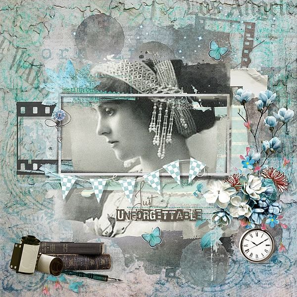 Memories of Yesteryear by Kitty Scrap Template by Studio Dawn Inskip