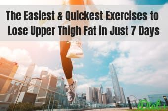 The Easiest & Quickest Exercises to Lose Upper Thigh Fat in Just 7 Days | How To…