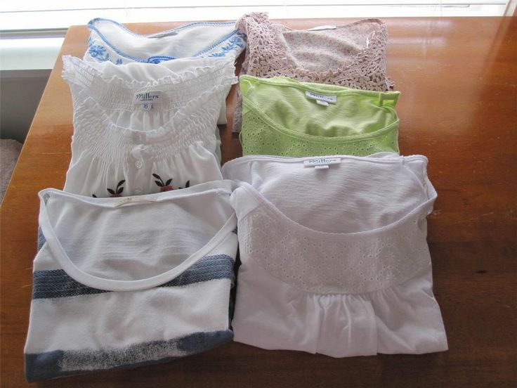 Six SUMMER TOPS Variety of Style. Size 16. Regatta,Millers,Target,Autograph. in Clothing, Shoes, Accessories, Women's Clothing, Tops & Blouses | eBay SELLER ID: kathy_a1