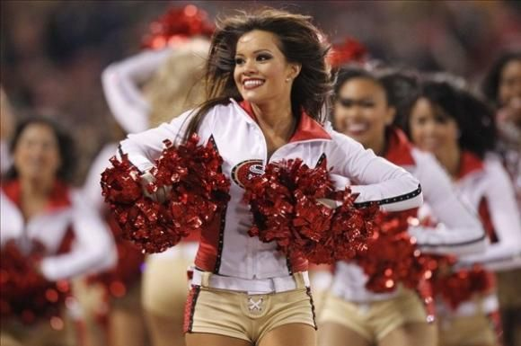 San Francisco 49ers Cheerleaders - Cheer Photo's of the Day #SuperBowl2013