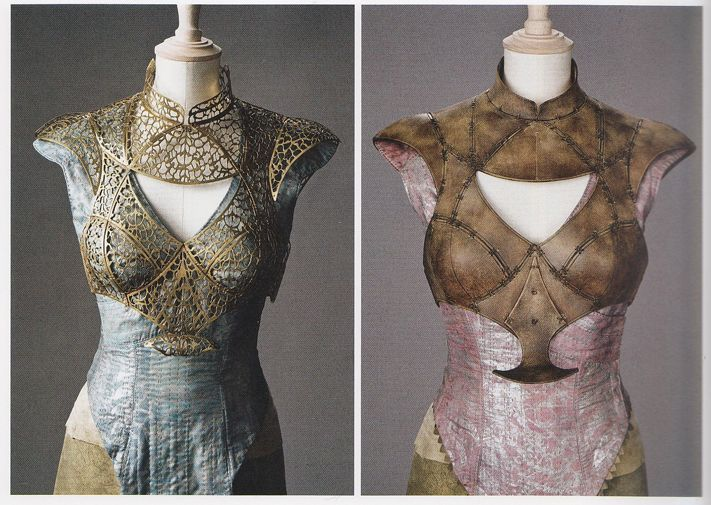 daenerys's costume's. i saw them at the game of thrones exhbit in nyc. <3