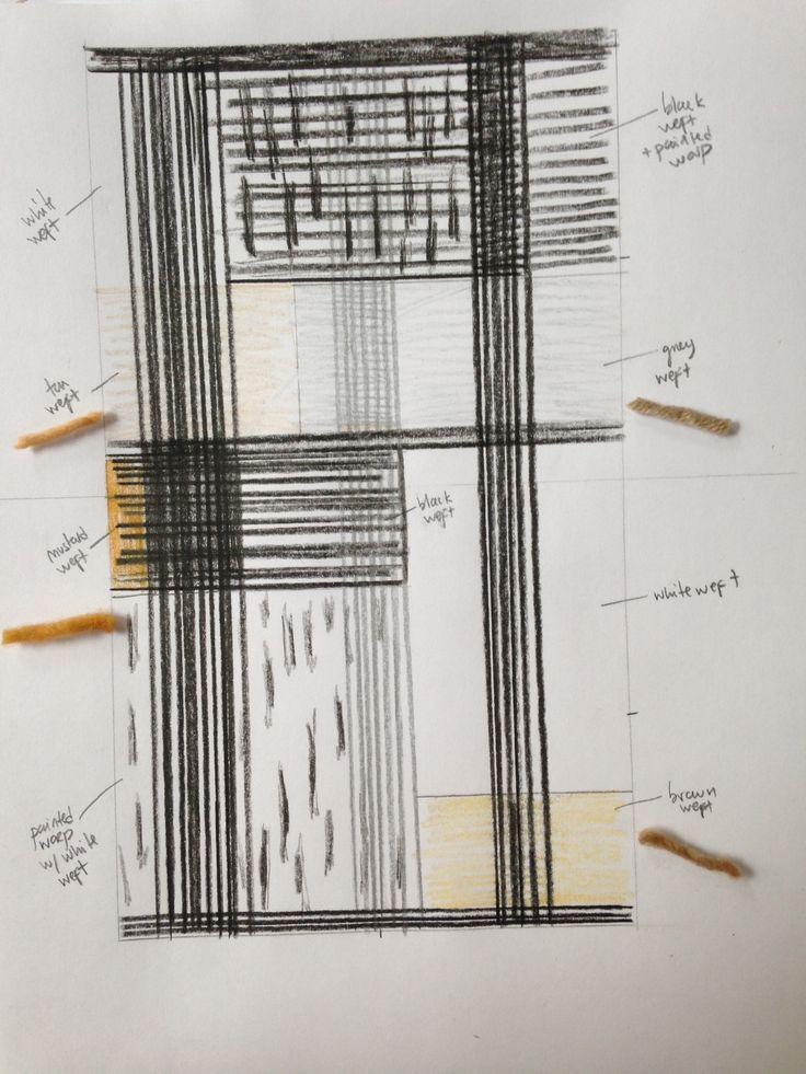 Initial sketch for M.Patmos by Isa Rodrigues of Textile Arts Center.