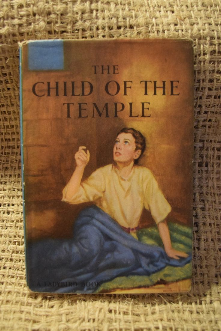 The Child of the Temple. A Ladybird Book from the Religious Stories Series 522 with Dust Jacket. by BookBugs on Etsy