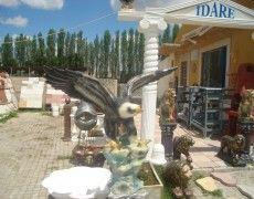 Flying Eagle Statue pedestal