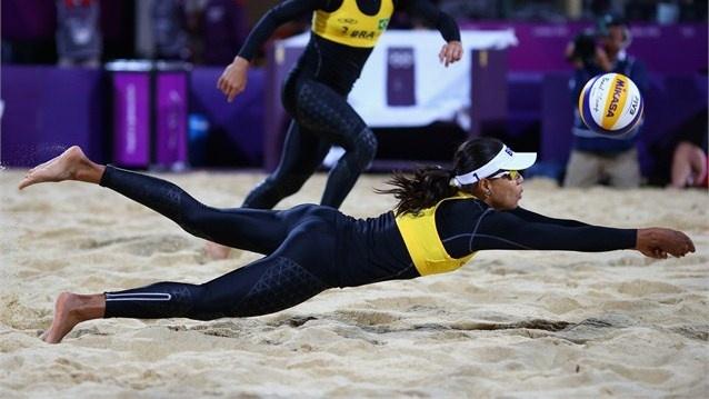 05-08-2012 - Volleyball de plage - BV - Women - SILVA Juliana
