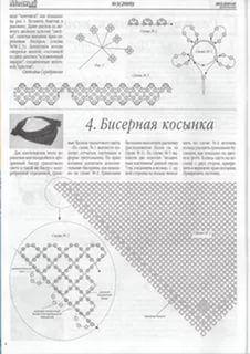 бисероплетение косынка подробная схема плетения: 24 тыс изображений найдено в Яндекс.Картинках