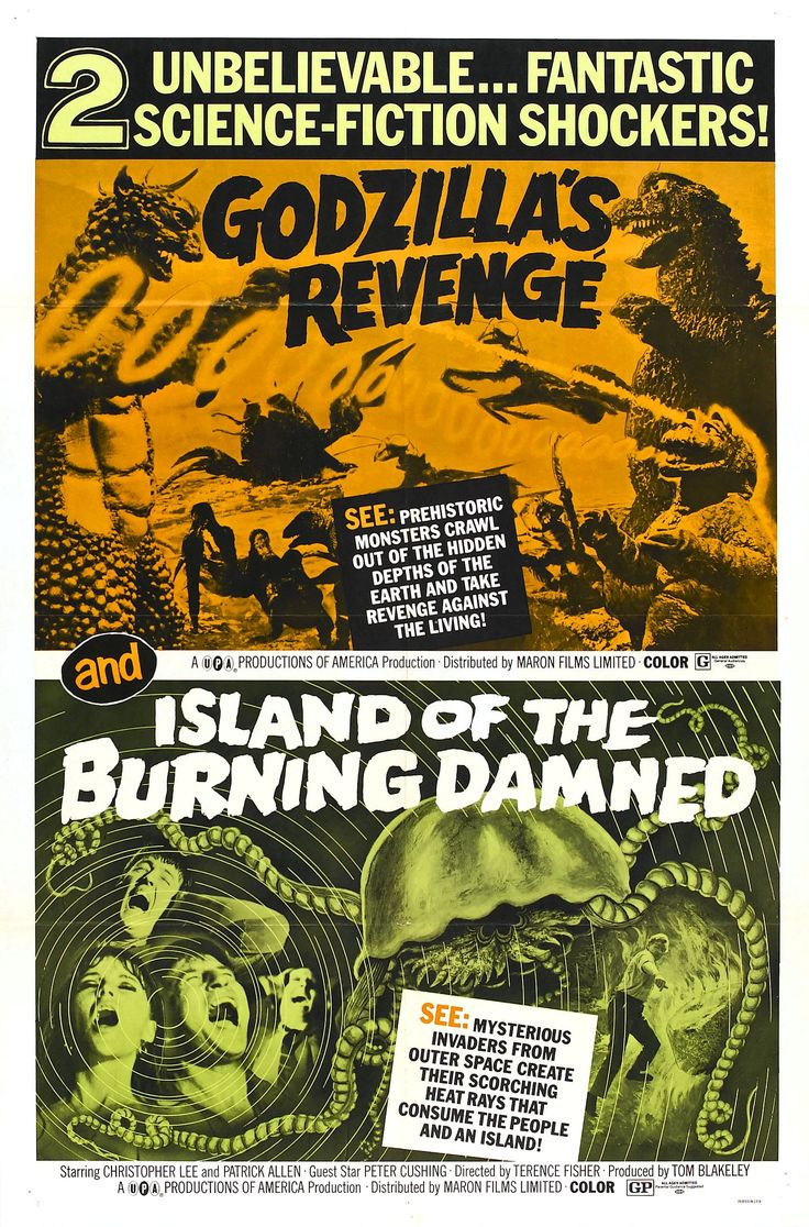 Island Of The Burning Damned  Movie Poster