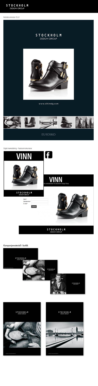 Merkevarebygging av Stockholm Design Group. Trykte og digitale flater > www.sthlm.no
