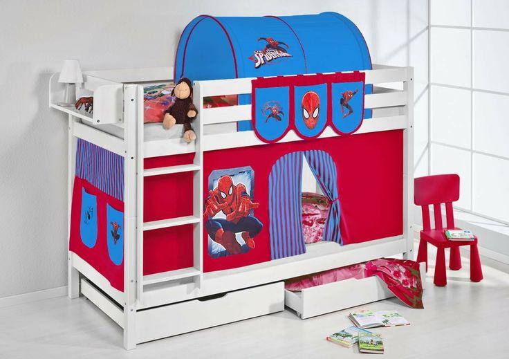 Etagenbett Wei 223 Spiderman Jelle Bunk Bed Spider Man