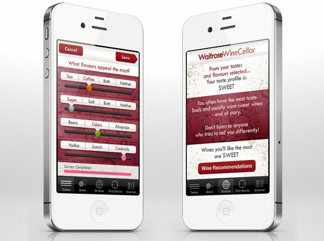 Waitrose Wine Cellar iPhone #app - http://enjoyrelax.co.uk/Waitrose-Wine-Cellar