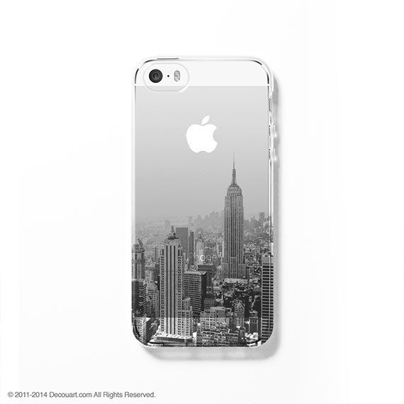 Cityscape iPhone 5C case iPhone 5s case iPhone 5C by Decouart, $23.99