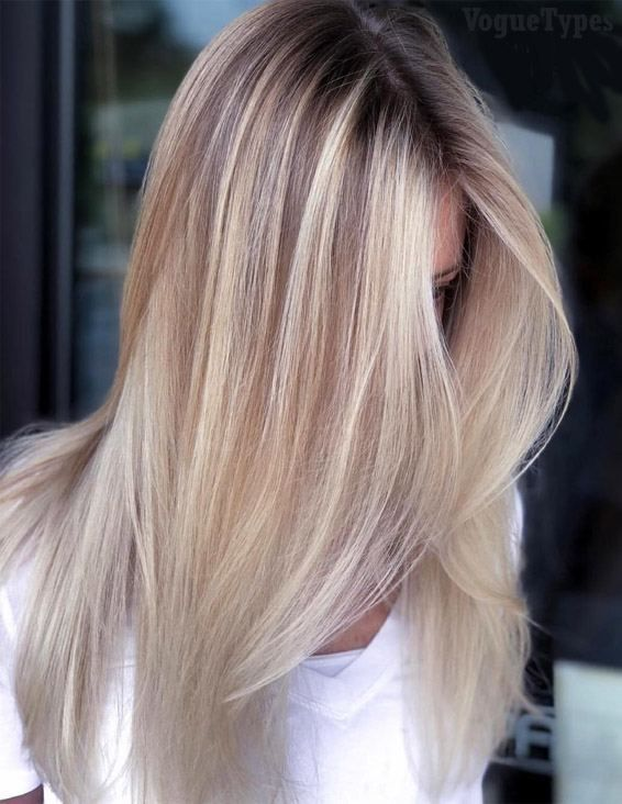 Gorgeous Blonde Balayage Hairstyles Trends For 2019 Voguetypes Balayage Hair Hair Styles Blonde Balayage