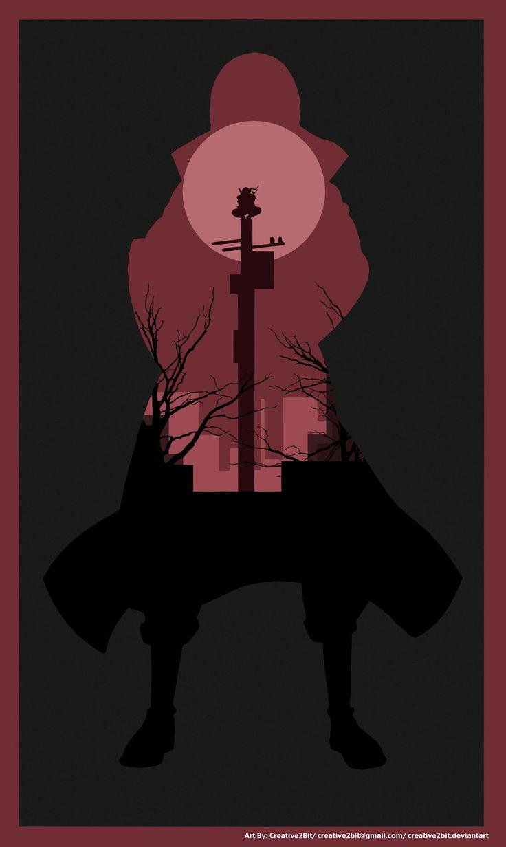 Itachi Uchiha (A Crimson Night) Poster by Creative2Bit on DeviantArt