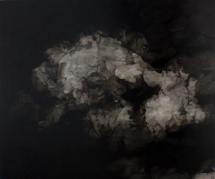 Sérgio Costa: Works - Strata #26 (Eventually), 2015  oil and enamel on canvas  118x142cm