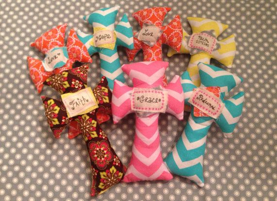 Crosses For Sale >> Comfy Crosses. Stuffed fabric crosses with inspirational ...