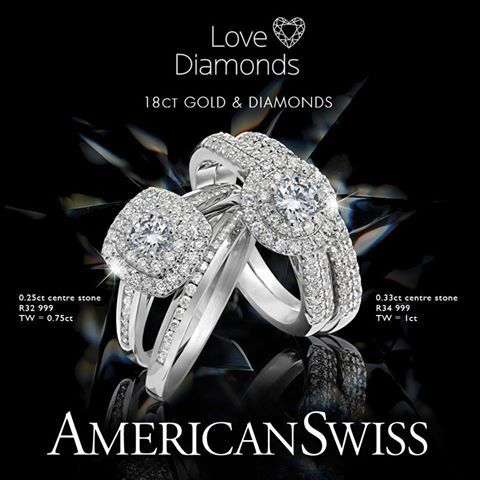 How about beating the Monday Blues with one of these little beauties from American Swiss!