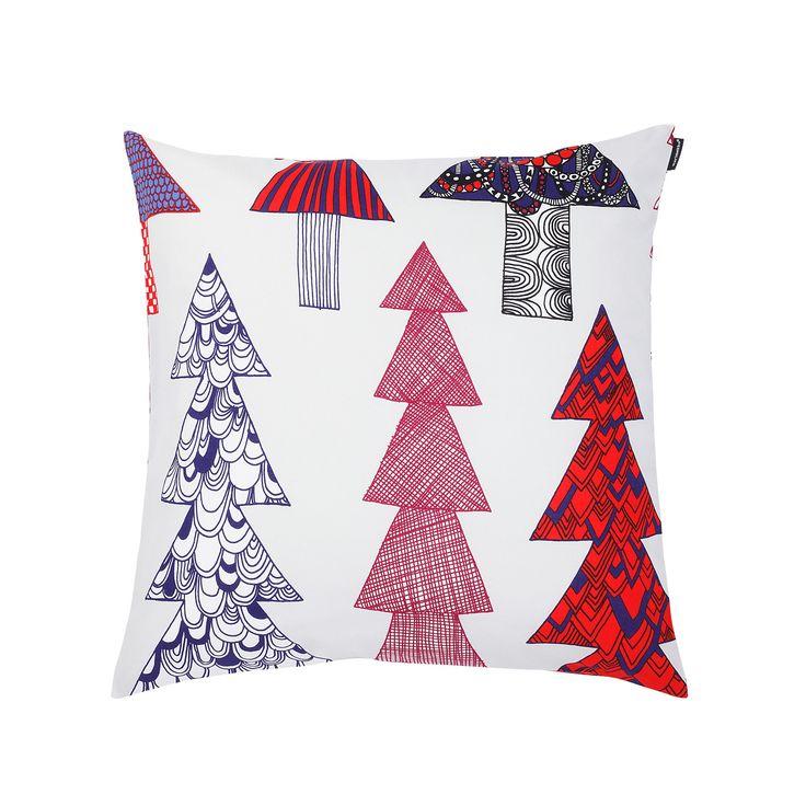 Kuusikossa cushion by Marimekko - http://www.skandium.com/kuusikossa-cushion